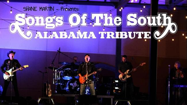 NOV 6 • Shane Martin Tribute to Alabama with The Plott Hounds