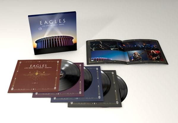 Grand Prize: Eagles Live From The Forum 4 LP set