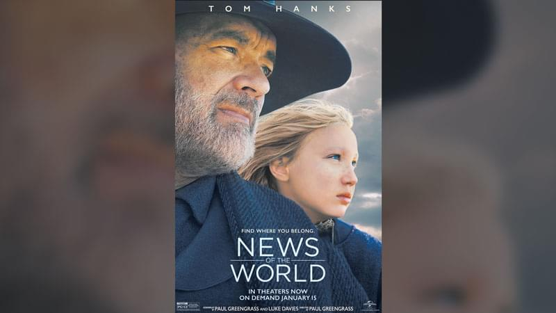 Enter to Win an Access Code to Stream News of the World On Demand