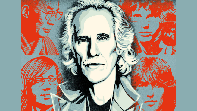Candice talks with John Densmore of The Doors