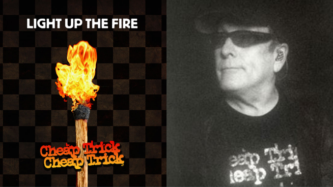 Candice checks in with Rick Nielsen of Cheap Trick