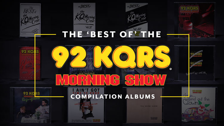 """Since 1986, The KQ Morning Show hosted by TOM BARNARD has been one of the most popular and longest-running radio morning shows in the country. Any given show can contain a compelling interview, a side-splitting segment leaving us gasping for air, and audio soundbites that our co-workers still quote after all these years. (""""Yo mammy!"""", """"I have to poop"""", """"a pair of choppers."""")  Listen"""