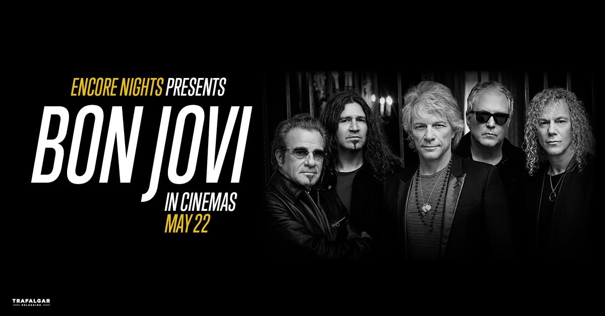 Win Bon Jovi Cinema Passes!