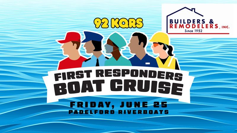 JUN 25 • KQ's First Responders Boat Cruise