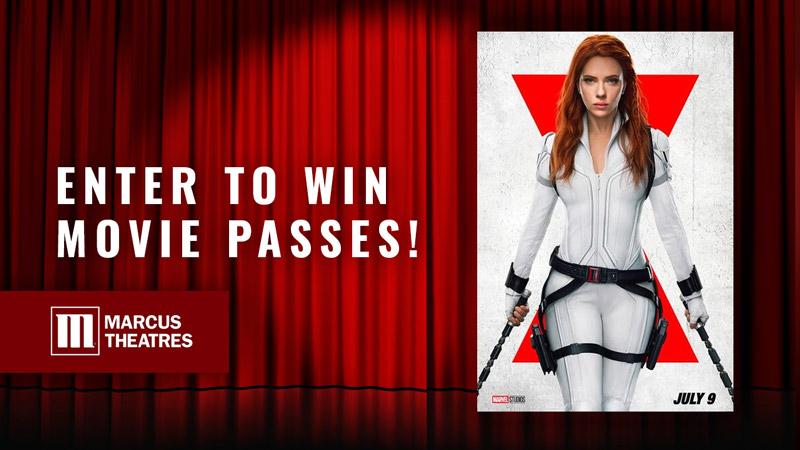 Win Movie Passes to See Marvel Studios' 'Black Widow'
