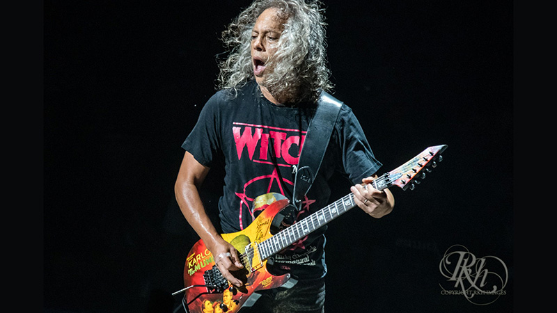 How Metal Saved Kirk Hammett from a Bad Childhood