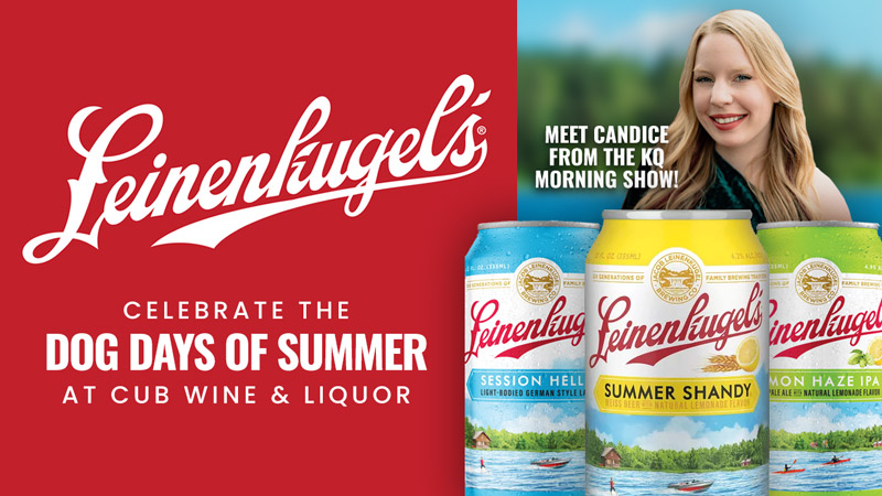 """Celebrate the """"Dog Days of Summer"""" with Leinie's and Candice at Cub Wine & Spirits"""