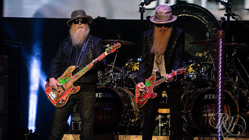 ZZ Top Tunes Back on Charts