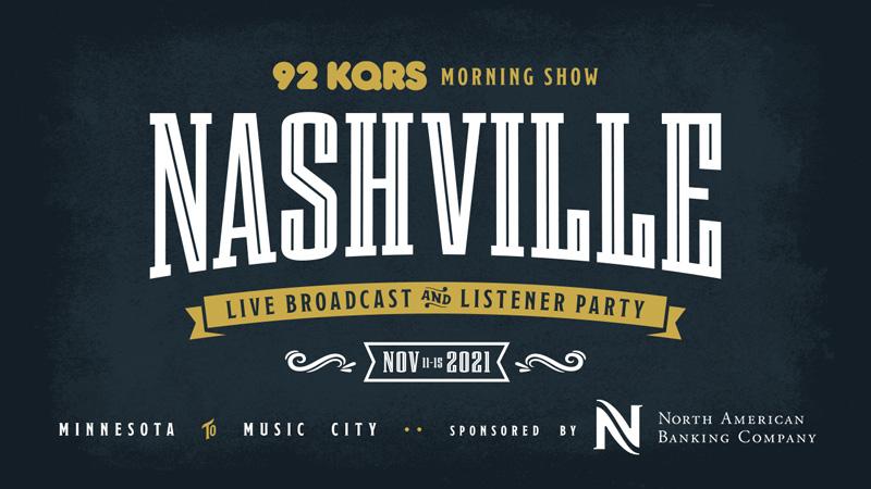 NOV 11-15 • KQ Morning Show Live Broadcast & Listener Party in Nashville