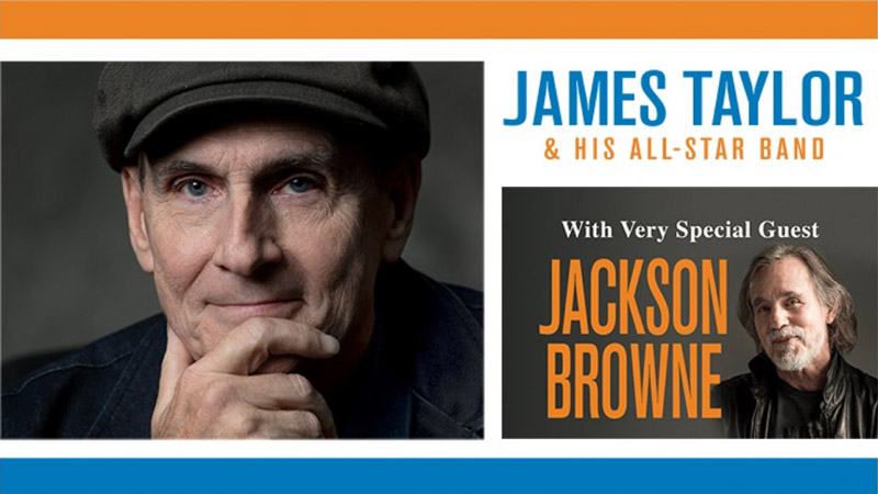 NOV 29 • James Taylor & His All-Star Band with special guest Jackson Browne