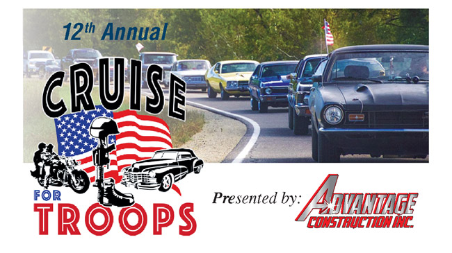 SEP 25 • 12th Annual Cruise for Troops