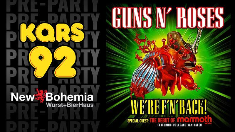 SEP 21 • Guns N' Roses Pre-Party at New Bohemia