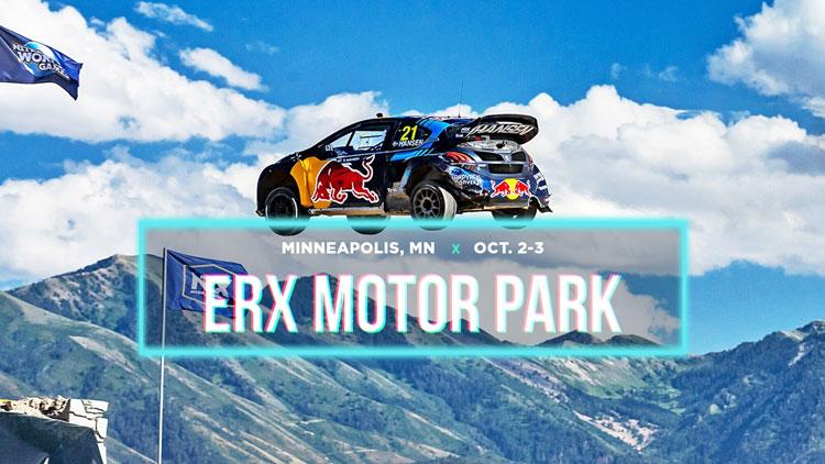 OCT 2 & 3 • Nitro Rallycross at ERX Motor Park