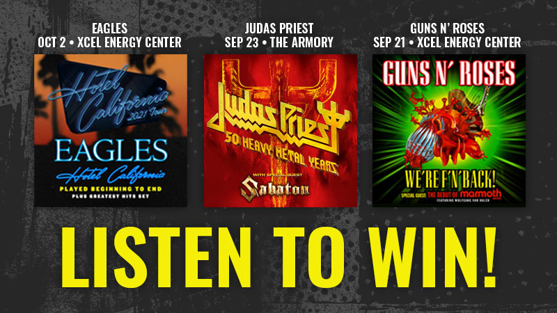 Listen to Win Concert Tickets on KQRS!