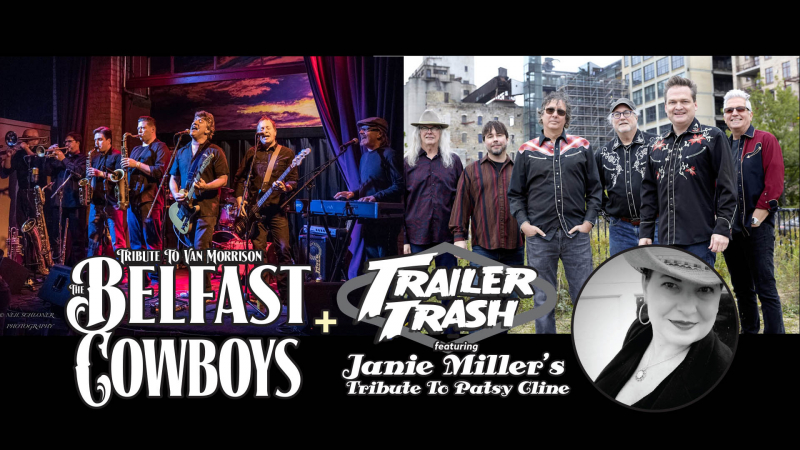 Belfast Cowboys with guest Trailer Trash