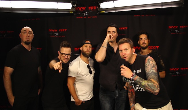 VIDEO: Interview with Breaking Benjamin