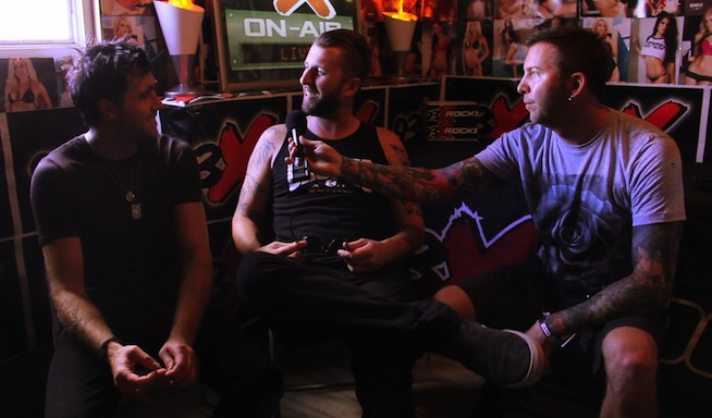 VIDEO: Interview with Neil and Matt of Three Days Grace