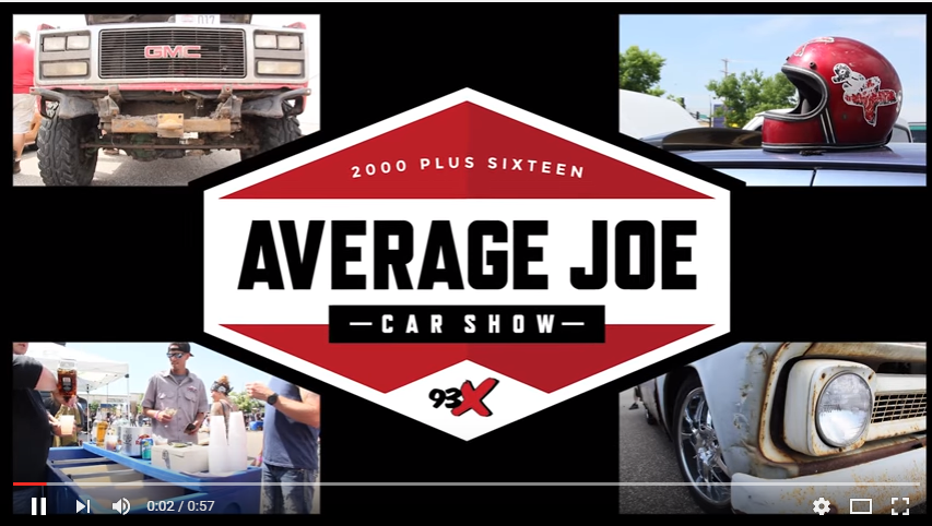 VIDEO: Average Joe Car Show