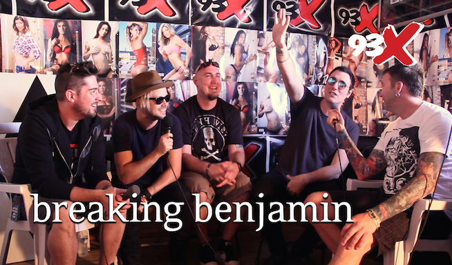 Rock Fest 2016: Interview with Breaking Benjamin