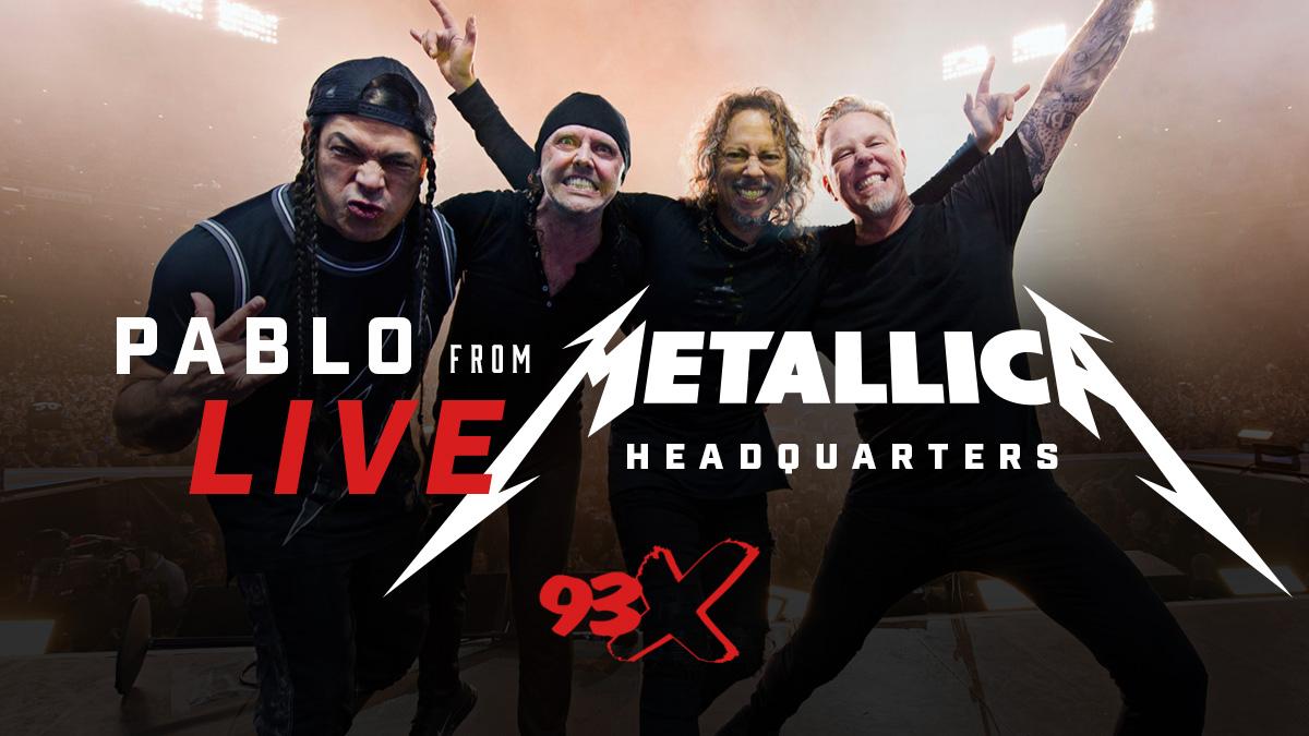 AUDIO: Pablo Interviews Metallica