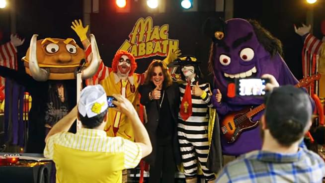 Ozzy Meets Mac Sabbath