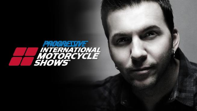 FEB 1 • Pablo at Progressive International Motorcycle Show