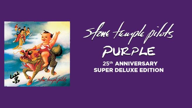 STP to Release 25th Anniversary Super Deluxe Edition of Purple