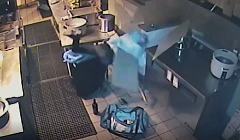 Burglar Falls Through Restaurant Roof But Still Finishes The Job