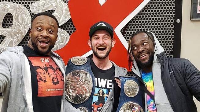 Wappel Meets His Wrestling Heroes, The New Day!