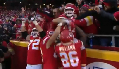 Kansas Cities Eric Fisher Channels Inner Stone Cold Steve Austin