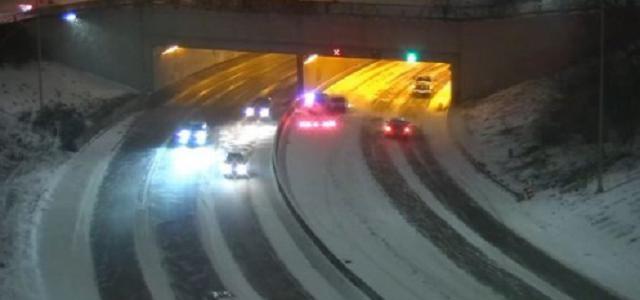 Vehicle Crashes Into Squad Car on I-94