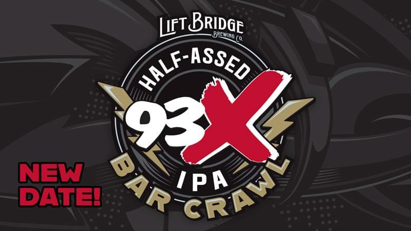 JAN 24 • 93X Half-Assed IPA Bar Crawl