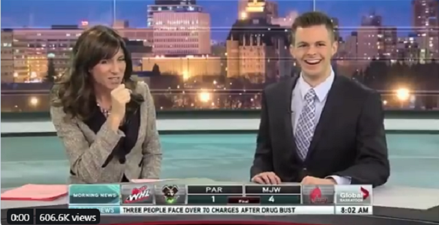 Flash Back Friday! News Anchor Makes Inappropriate Gestures