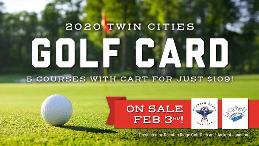 2020 Twin Cities Golf Card