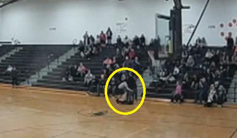 Ref Attacked By Fan In Highschool