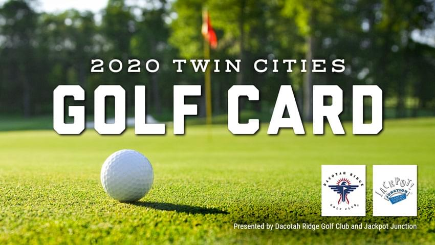 2020 Twin Cities Golf Card: On Sale Now!