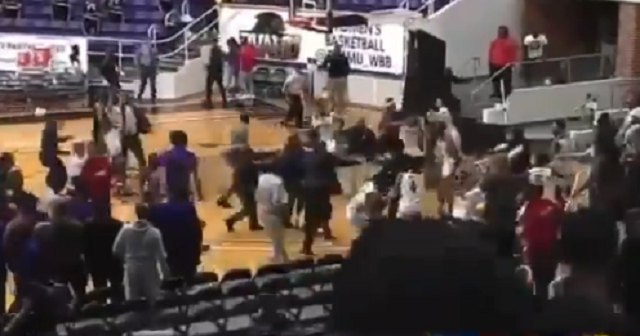Brawl During Postgame Handshake