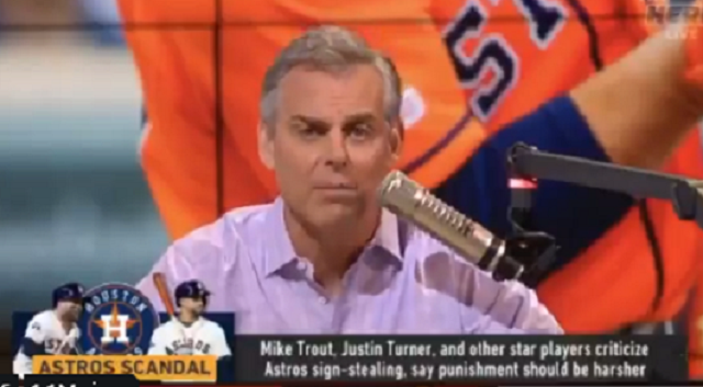 Colin Cowherd Uses Pornhub for Analogy when Talking about Astros