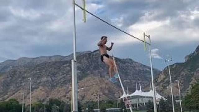 BYU Pole Vaulter Pierces Scrotum In Horrific Accident, Needed 18 Stitches