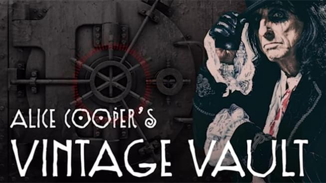 Brian May of Queen on Alice Cooper's Vintage Vault Podcast