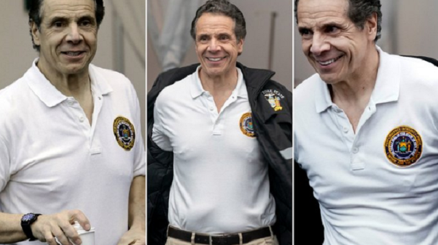 Andrew Cuomo's Nipples Distract from Virus