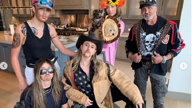 Sylvester Stallone and Family Have Tiger King Fever