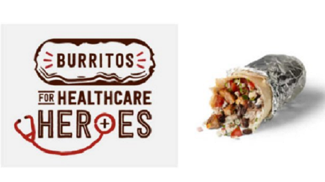 Healthcare Worker? Chipotle's Got a Burrito for You!