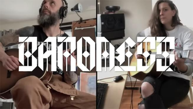 Baroness Release Socially Distant Performance of Tourniquet