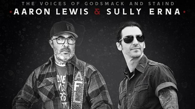 OCT 3 • Aaron Lewis & Sully Erna: North American Drive-In Tour (First Show)
