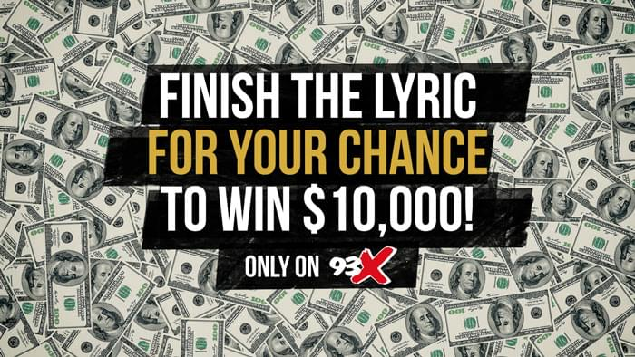 Finish The Lyric for Your Chance to Win $10,000!