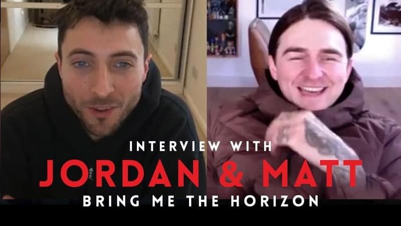 Interview with Matt and Jordan of Bring Me The Horizon