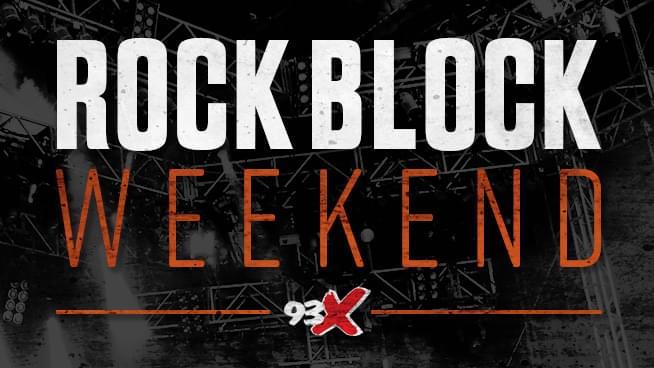 93X Halloween Rock Block Weekend!