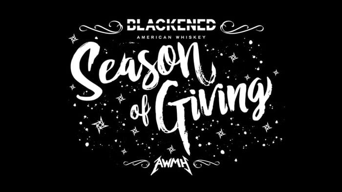 Metallica Teams Up with BLACKENED Whiskey for Season of Giving