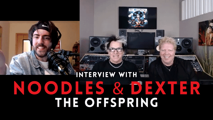 Interview with Dexter & Noodles from The Offspring